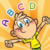 ABC ! Spel för barn att lära att skriva ord och alfabetet på engelska