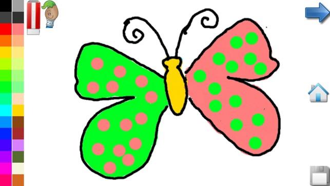 Disegni Da Colorare Farfalla Libro Da Colorare Giochi Per