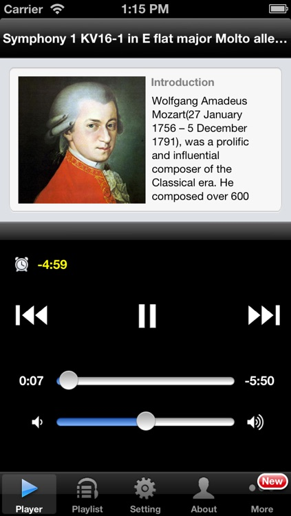 Mozart Symphonies screenshot-0