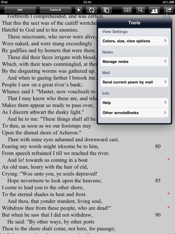 Dante: Divine Comedy for iPad screenshot-3