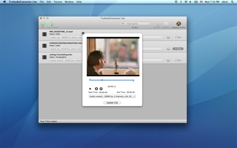 TruAudioConverterLite скриншот программы 3
