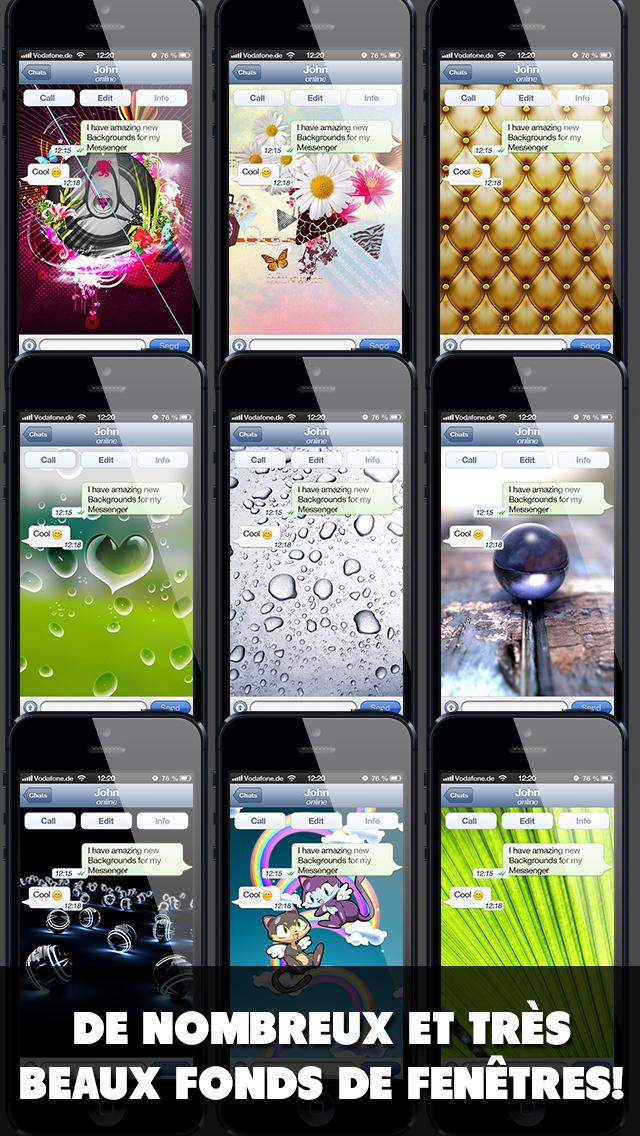 download Fond d'écran pour ton application de messagerie apps 2