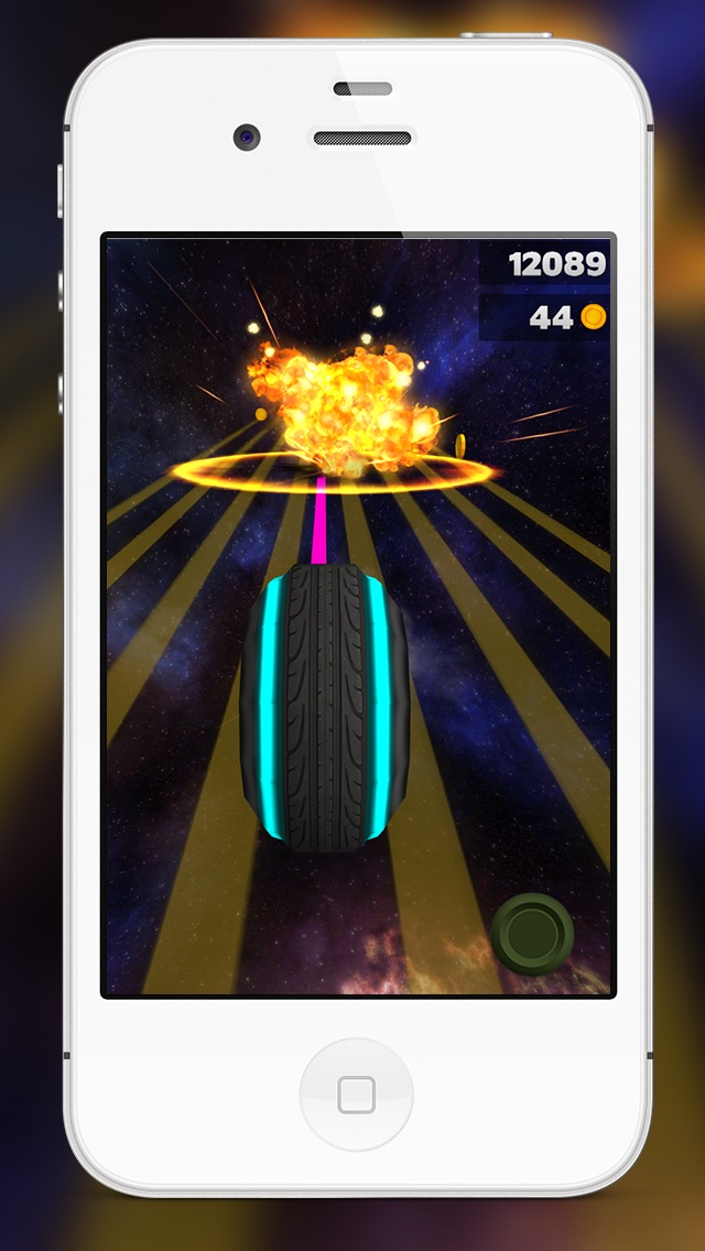 Action Neon Lights Retro Racer Mania Game - Top RPG Adventure Runner Rider 3D Games For Boys Girls & Kids For Free Screenshot