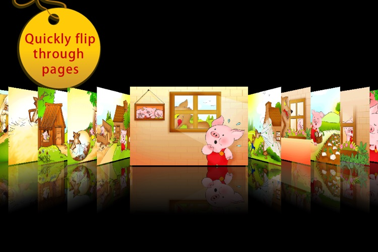 The Three Little Pigs Storybook HD screenshot-4