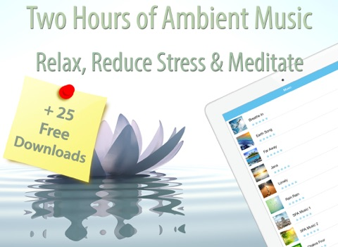 Relaxation Music for Meditation and Stress Relief screenshot
