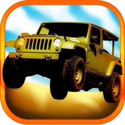 3D Combat Jeep Racing Simulator Challenge Free