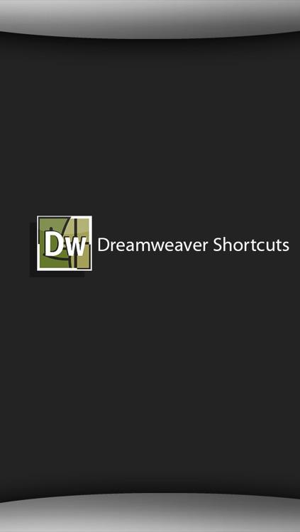 Shortcuts for DreamWeaver