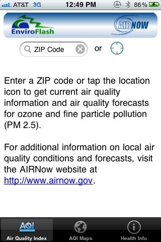 EPA AIRNow screenshot-3