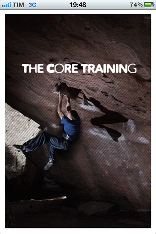 The Core Training – training for climbing by Christian Core screenshot-0