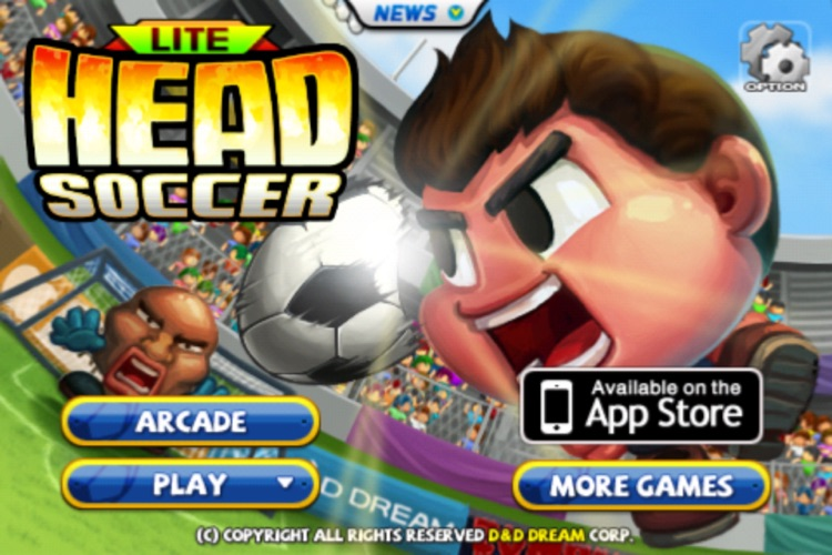 Head Soccer Lite screenshot-0