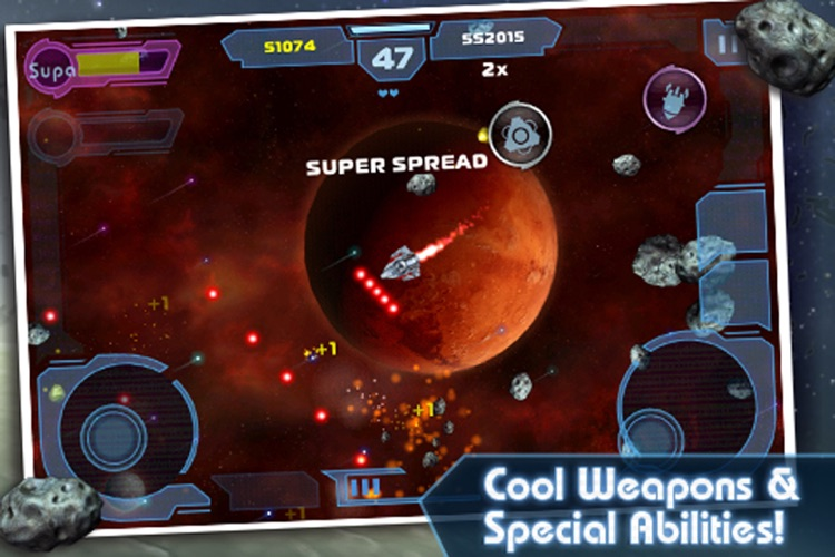 Asteroids: Gunner screenshot-4