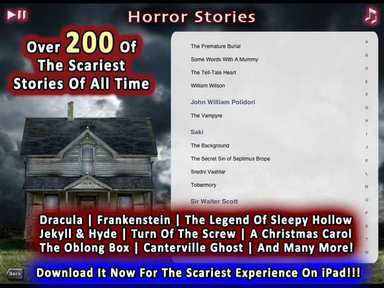 200+ Horror Stories Sounds And Scares for iPad screenshot-4