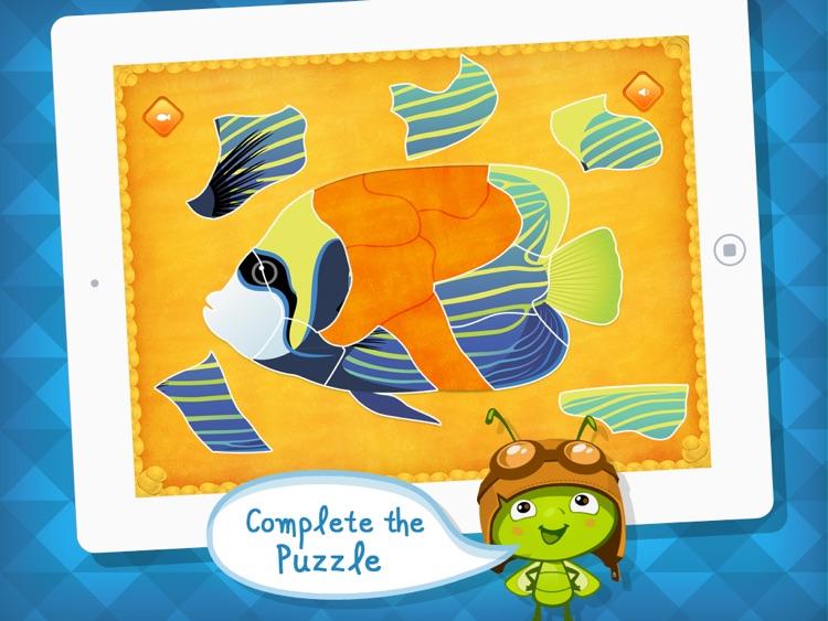 Aquarium Dots: Connect The Dot Puzzle App - by A+ Kids Apps & Educational Games