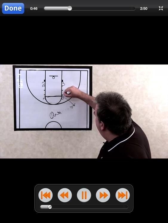 Backdoor Plays: Scoring Playbook - with Coach Lason Perkins - Full Court Basketball Training Instruction - XL screenshot-3