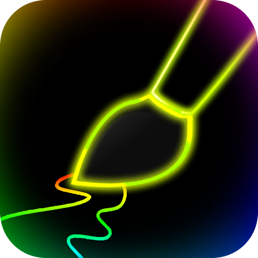 Neon Glow Paint
