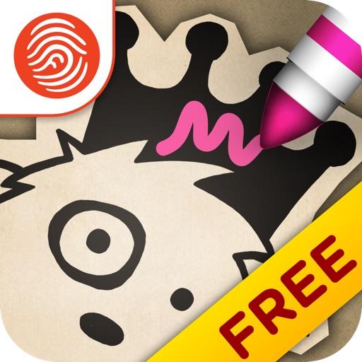 Princess Drawsalot and the Dragon - A Fingerprint Network App