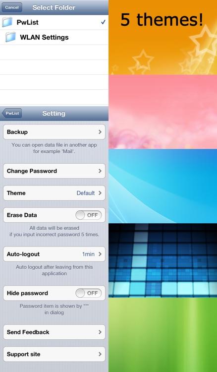 PwList (Password List) screenshot-3