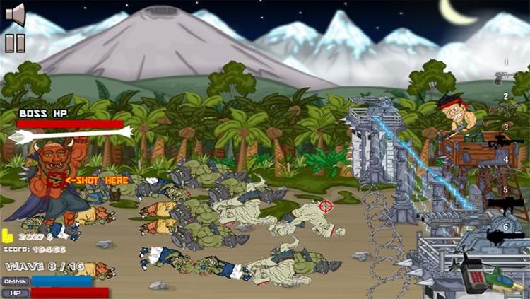 Dead Zombies Head - Shoot Game screenshot-3