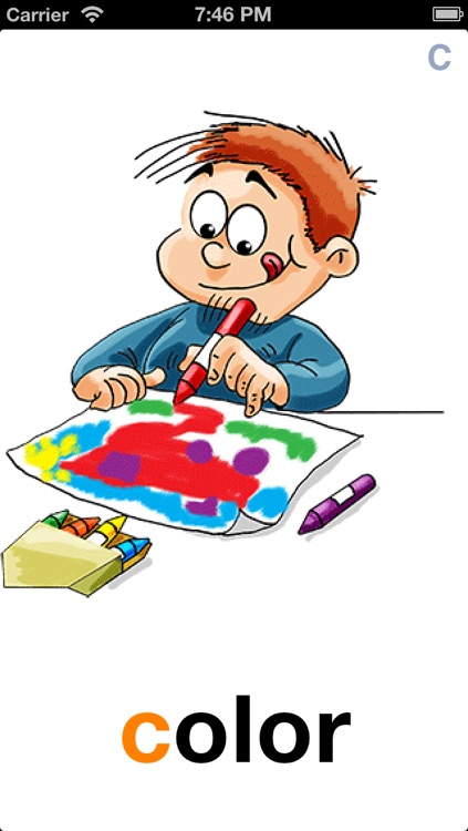 Learn To Talk More Words – Preschool,Kindergarten Flashcards