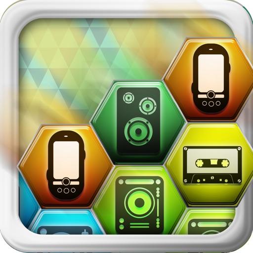 Music Phone Digital Match Game -  Free Version