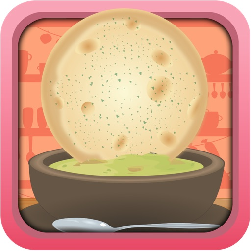 Indian Roti And Soup