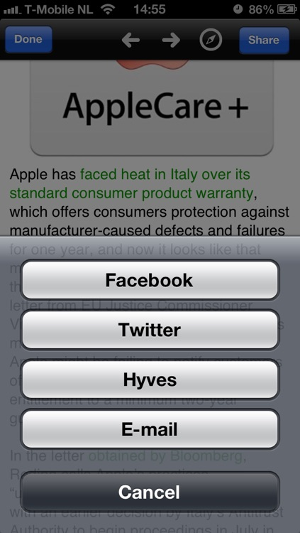 iNews - All the hottest Apple news! screenshot-2
