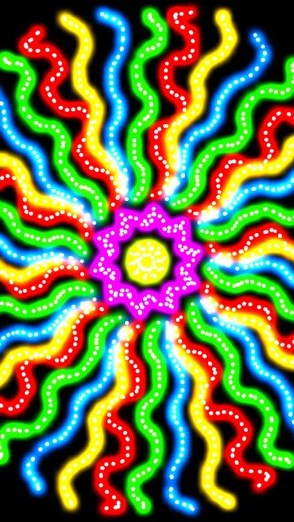 Glow Spin Art screenshot-3