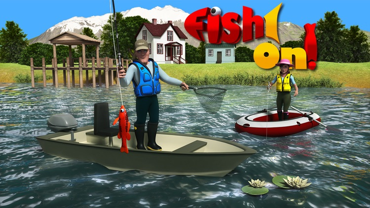 Fish On! Maze Game for the Mega Fisherman
