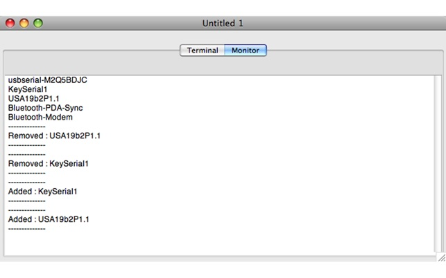 SerialTools on the Mac App Store