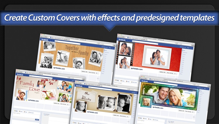 Photo Covers for Facebook LITE: Timeline Editor
