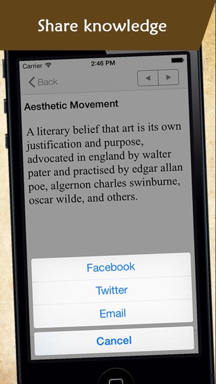 Glossary of Poetry Terminology screenshot-3