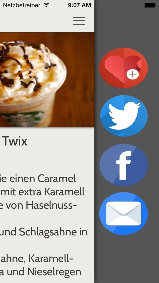 Geheime Menü für StarbucksScreenshot von 4