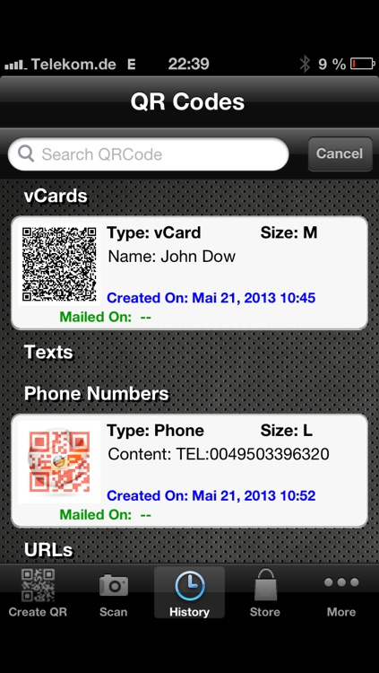 QR Coder Universal screenshot-2