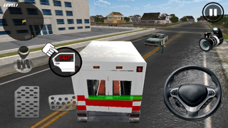Crazy Ambulance King 3D screenshot two
