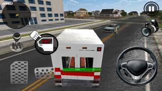Crazy Ambulance King 3D screenshot two