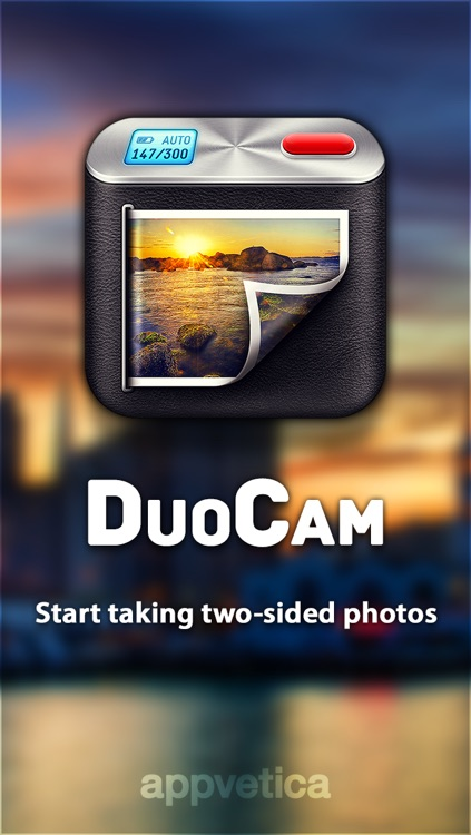 DuoCam - take two sided photos with both cameras!