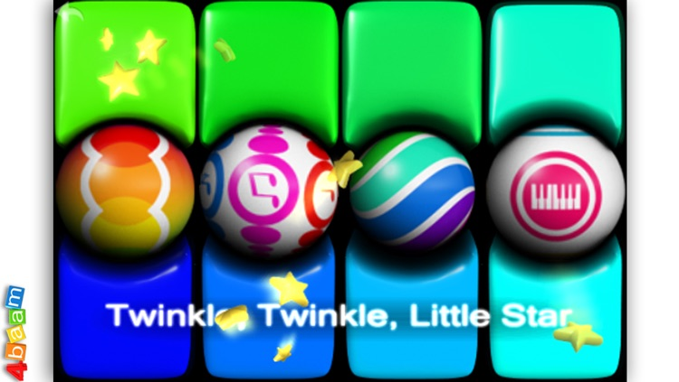 PianoBall - Fun With Learning - magic instrument for kids
