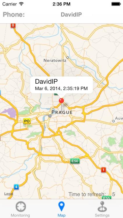 Cell Phone GPS Tracker (PhoneOnMap) screenshot-3