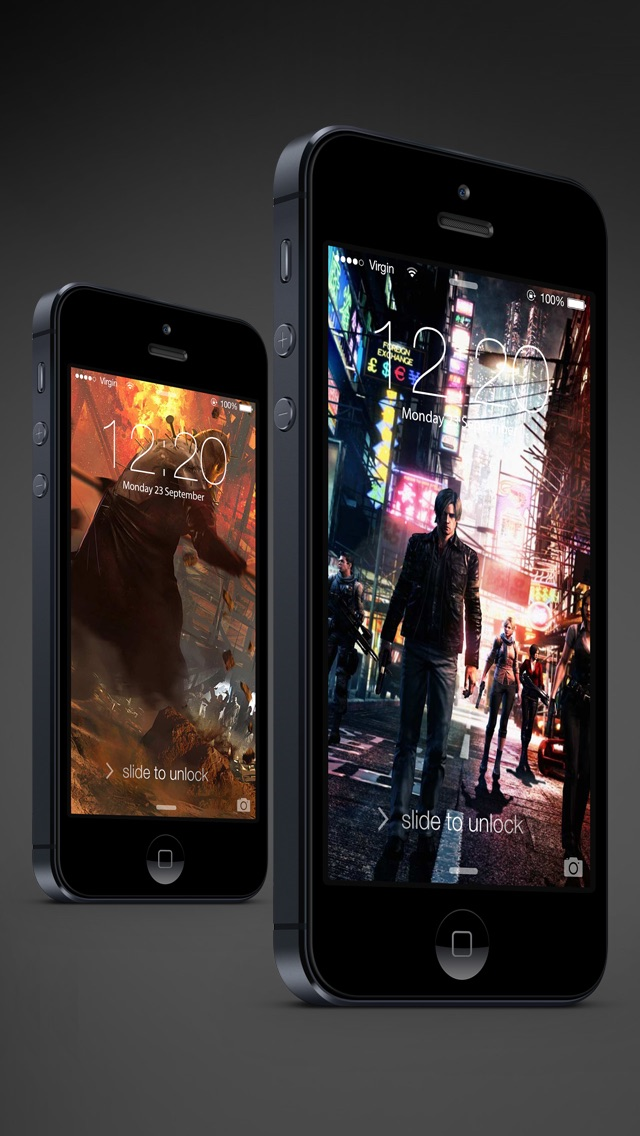 download HD Resident Evil version wallpapers - Ratina Background & Lock Screen for all iOS Device apps 4