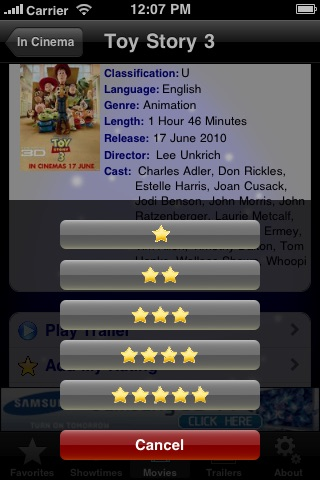 Screenshot #5 for CineApps Malaysia
