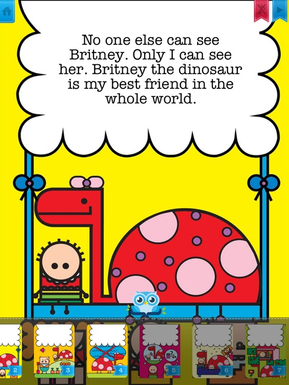 My Dinosaur - Have fun with Pickatale while learning how to read! screenshot-2