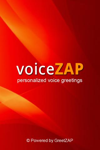 VoiceZAP Screenshot
