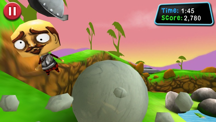 Roll: Boulder Smash! screenshot-2