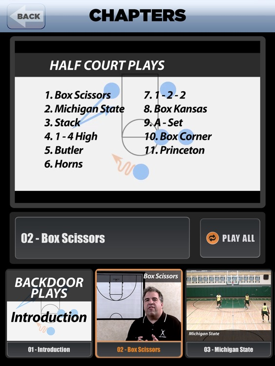 Backdoor Plays: Scoring Playbook - with Coach Lason Perkins - Full Court Basketball Training Instruction - XL