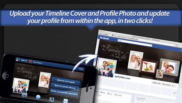 Photo Covers for Facebook: Timeline Editor screenshot-4