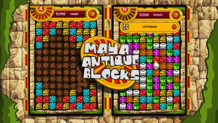 Antique Mayan Blocks - Collapse, Earn, Mash, Trap and Splash Jewel Pieces screenshot-1