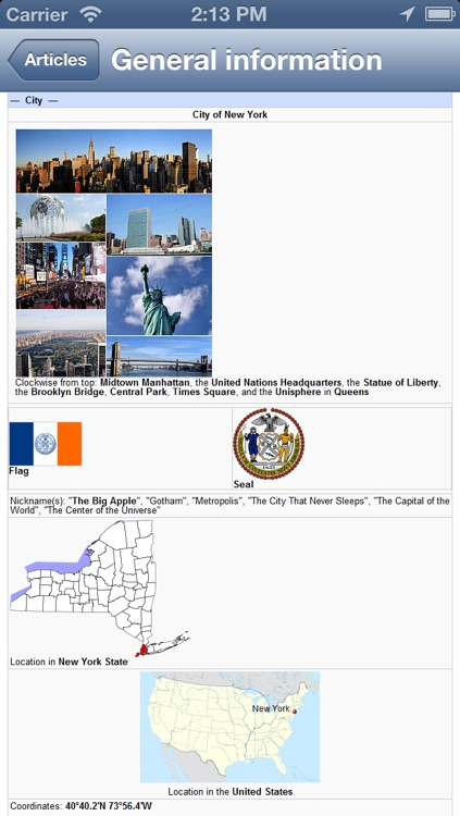 New York City, USA Offline Map - PLACE STARS screenshot-4
