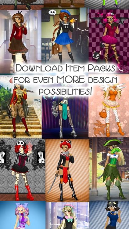 CreateShake: Manga Girl screenshot-4