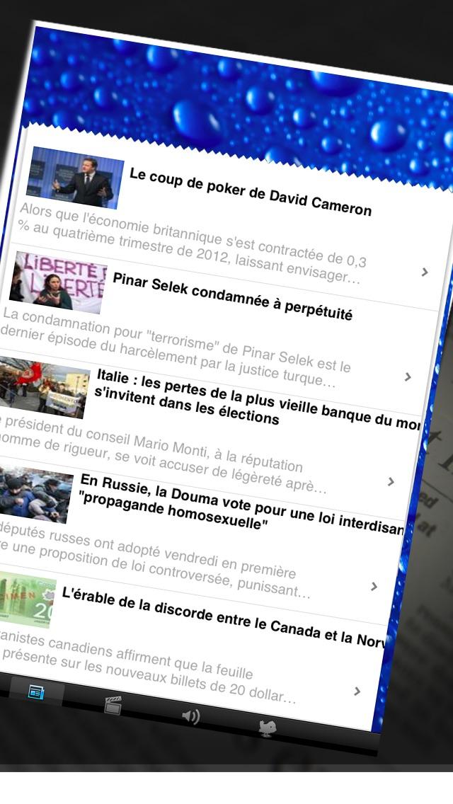 Journaux francais screenshot1