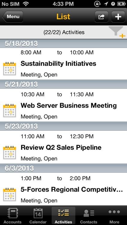 SAP Sales Manager screenshot-3
